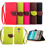 Hot Flip Wallet Leather Case With Stand Holder Luxury Flip PU Leather Case For LG G4/G3/G3 Mini/L90(Assorted Colors)