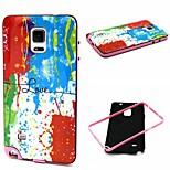Fashion Design COCO FUN® Color Painting Pattern Soft TPU Back Case Cover for Samsung Galaxy Note 4