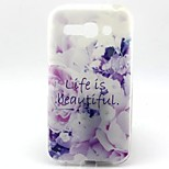 Medicago Pattern TPU Material Soft Phone Case  for Alcatel C9