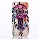 Campanula Pattern TPU Material Soft Phone Case for iPhone 5/5S