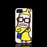 / caso del iphone 4 s la cubierta del patrón de plátano para el iphone 4 carcasa