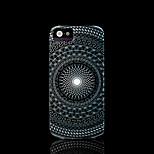 azteca patrón de flor mandala duro para el iphone 5 caso para el iphone 5 s