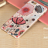 New Fashion 3D Beauty Flower Colorful Totem Cartoon Case for iphone 6S 5.5