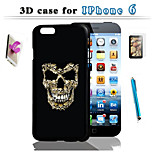 3 D Art Design To Protect The For iPhone 6 And Touch Screen Pen Hd Membrane Bracket Combination