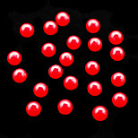 CandyPearl6mm Candy Pearl 100pcs/lot 6mm Red Color Round Pearl for Women Ladies DIY Nail Art fashion Decoration