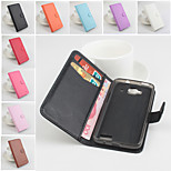 Protective PU Leather Magnetic Vertical Flip Case for Alcatel One Touch Idol Mini 6012(Assorted Colors)