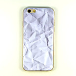 Foil  Pattern TPU And IMD Soft Case For iPhone 6 Plus