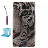 Tiger Pattern TPU Phone Case  for Samsung Galaxy Alpha/G850