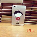 Cartoon Painted Kawaii Crayon Shin-chan thin Soft TPU Back Case Cover Chibi Maruko Chan Skin Cases for iphone 6 4.7 Inch