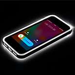 Call LED Blink Transparent TPU Back Cover Case For iPhone 6(Assorted Colors)