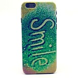 Glitter Smile Pattern Hard Case Cove for iPhone 6