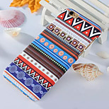Fashion Colorful Pattern PC Material for iphone6 (Random Color)