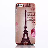 Transmission Tower Pattern TPU Material Phone Case for iPhone 5/5S