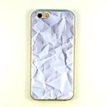 Foil Pattern TPU And IMD Soft Case For iPhone 5/5S