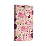 Pink Snail Pattern Full Body Case for Sony Xperia E4G(Assorted Colors)
