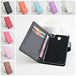 Protective PU Leather Magnetic Vertical Flip Case for Lenovo A859(Assorted Colors)