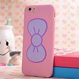 Bow Bracket Shell Phone Silicone Material for iPhone 6(Assorted Colors)