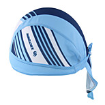 Bandana Bike Cycling,WEST BIKING® Unisex Soft Breathable Bicycle Cap Blue Line Polyester Pirate Kerchief UV Sunscreen Cycling Accessories