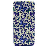 Many butterfly Pattern Plastic Hard Cover for iPhone 6