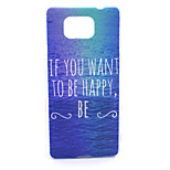 Happy Sea Pattern PC Hard Case for Samsung Galaxy Alpha G850 G850F G8508S G8509V Back Cover