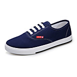 Men's Shoes Outdoor/Casual Canvas Fashion Sneakers Black/Blue/Green/Red/White