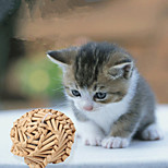 Hand-Woven Natural Straw Design Single Ball Toys for  Cats