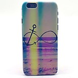 COCO FUN® Rainbow Anchors Pattern Hard PC IMD Back Case Cover for iPhone 6