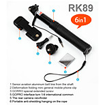 Wired Monopod Cable Take Pole Selfie Monopod Selfie Kit RK89E
