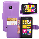 Litchi Around Open Bracket Leather Phone Wallet Card Suitable for Nokia Lumia 530(Assorted Color)