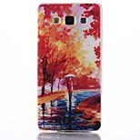 modello mangrovia materiale TPU soft phone per la galassia a5