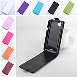 Protective PU Leather Magnetic Vertical Flip Case for Sony Xperia S36H(Assorted Colors)
