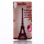 Transmission Tower Pattern TPU Material Phone Case for Sony Z4