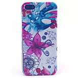 Watercolor Flower Pattern PC Hard Case For iPhone 5/5S