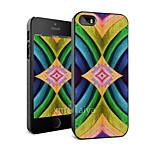 color cáscara de la protección del estilo de moda de dibujo para iPhone5 / 5s -maiya-m11303