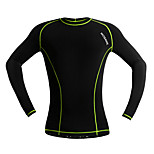 WOSAWE Mens Compression Base Layer Top Long Sleeve Cycling Sports Jersey