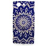 Sun Flower Pattern TPU Soft Case for Sony Xperia Z3 Mini
