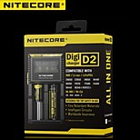 Nitecore D2 Digicharger LCD Display Battery Charger Original