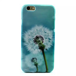 Dandelion Pattern TPU Phone Case For iPhone 6