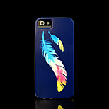 Feather Pattern Hard Cover for iPhone 5 Case for iPhone 5 S