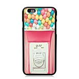 caso duro del diseño de color rosa para 5c iphone