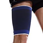 Ollas Unisex Outdoor Fitness Blue Polyeste Knitting Legs Protective Gear/High-elastic Cotton Thigh Supporter S9502