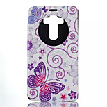 Butterfly Pattern Quality Bracket Case for LG G4