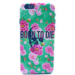 Birth to death Pattern Plastic Hard Cover for iPhone 6