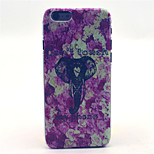 Elephant Pattern Plastic Hard Cover for iPhone 6