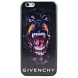 Growling Dog Pattern hard Case for iPhone 6