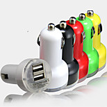 Plus Daul-USB 2.1A/1A Output Trumpet Shape Car Cigarette Power Fast Charger