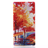Mangrove Forest Pattern Material TPU Soft Phone Case for Sony Xperia M2