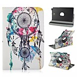 360 Rotation Colorful Ball Box PU Leather PC Case with Flexible Belt and Holder for Samsung Galaxy Tab A 8.0 T350