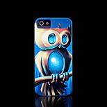 modelo del búho duro para el iphone 5 caso para el iphone 5 s