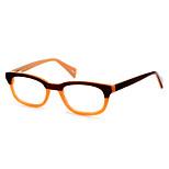 [Free Lenses] Women's Acetate Wayfarer Full-Rim Retro Prescription Eyeglasses